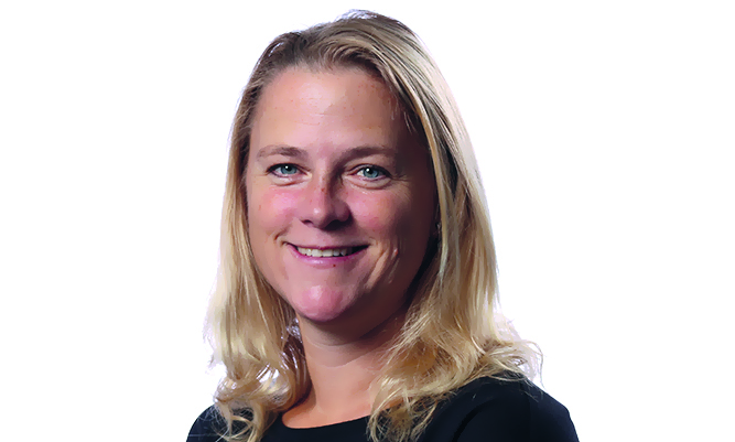 Lotta Persson är en av Wibax experter när det gäller vattenrening inom gruvindustrin.