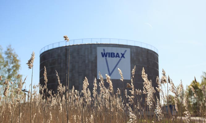 Wibax terminal i Norrköping