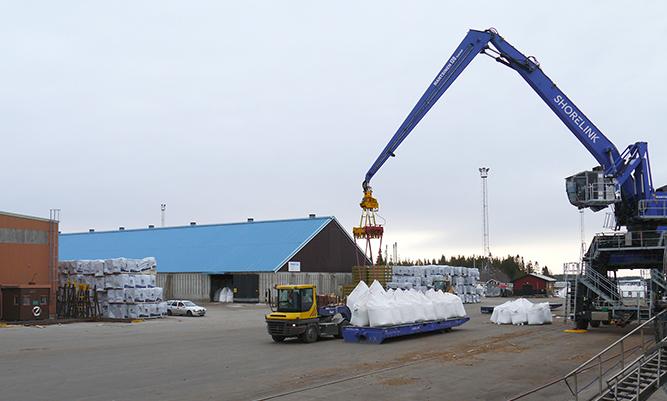 Wibax terminal, Haraholmen