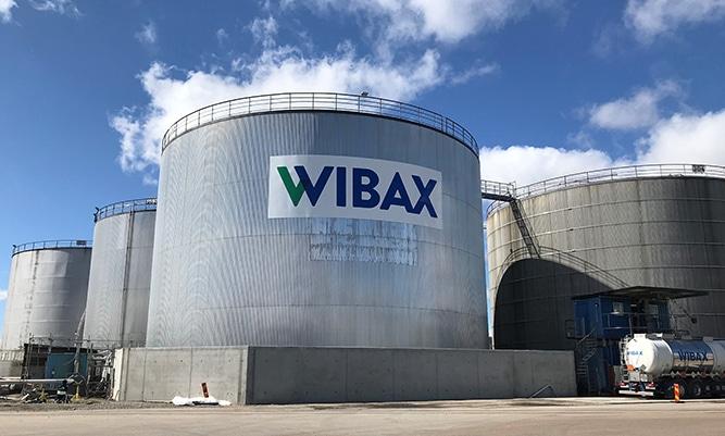 Wibax-terminaali, Uddevalla