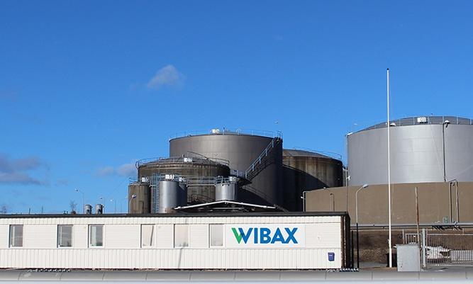 Wibax-terminaali, Skelleftehamn