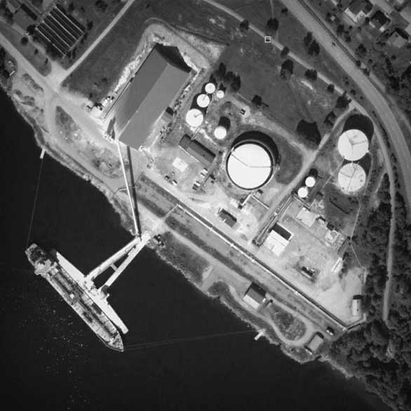 Tanker terminal in Örnsköldsvik