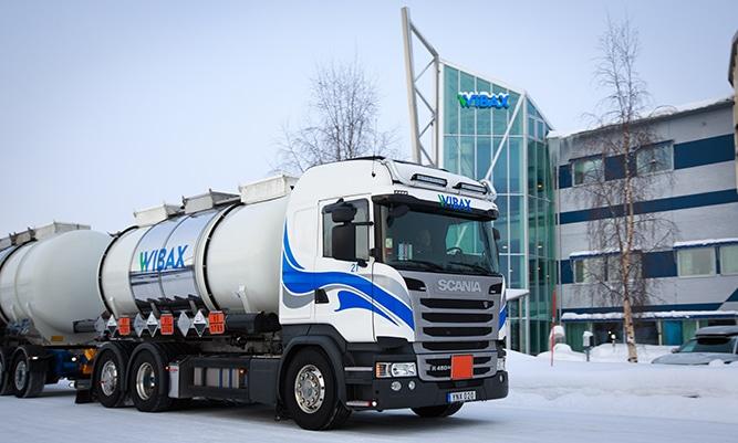Wibax tanker truck