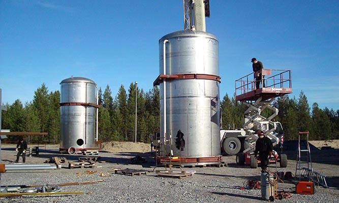 Tillverkning av cistern
