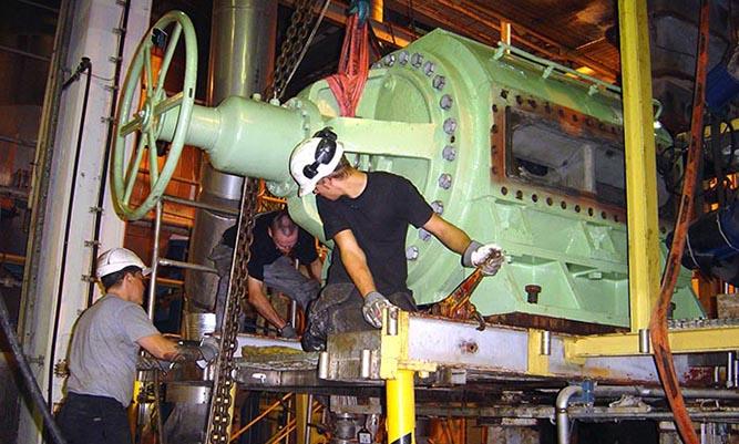Reparationer och mekaniskt underhåll