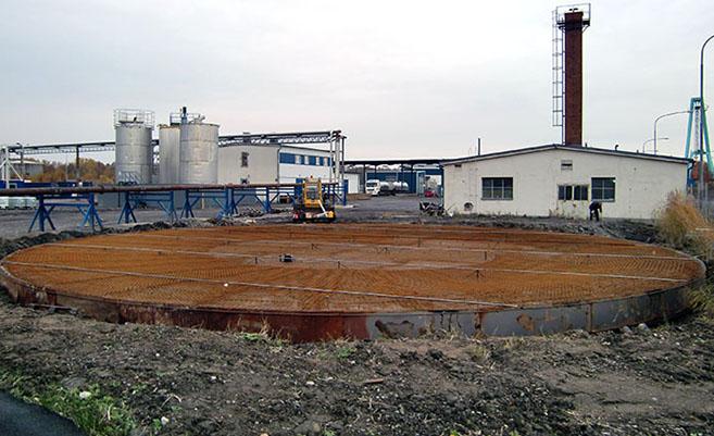 Cisternfundament