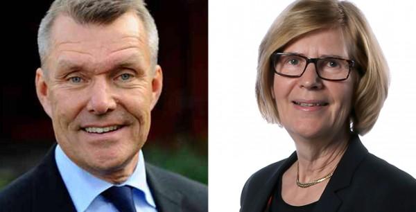 Lars-Eric Aaro och Stina Blombäck till Wibax styrelse