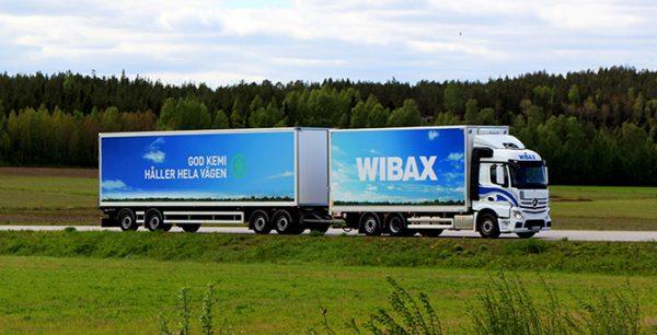 Wibax Logistics satsar på förnyelsebart bränsle