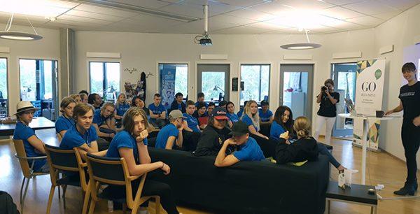 Wibax delfinansiär i UngDrive Norrbotten