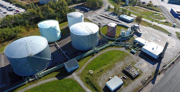 Nya terminalen ger Wibax OY muskler i Finland