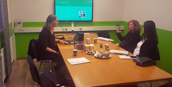 Besök av Miljöpartiets statssekreterare Eva Svedling