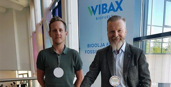 Wibax BIOBASEn konferenssissa