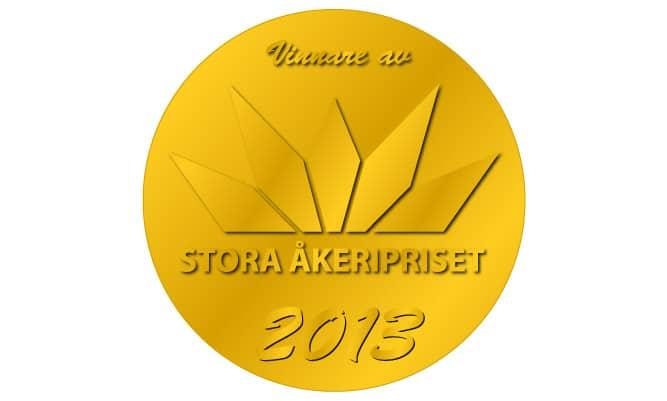 År 2013 blev WIBAX Logistics av totalt 35 nominerade företag utsedda till vinnare av Stora Åkeripriset, Stora Åkeripriset delas ut till företag som satsar på miljö, lönsamhet, personal, trafiksäkerhet och innovation. Bakom initiativet står Sveriges Åkeriföretag tillsammans med NTF, Qlll och Greater Than.