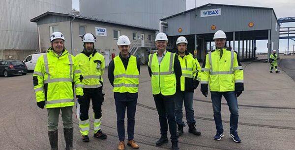 Wibax Sverige besöker Wibax Finland